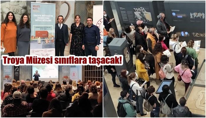 Troya Müzesi sınıflara taşacak!