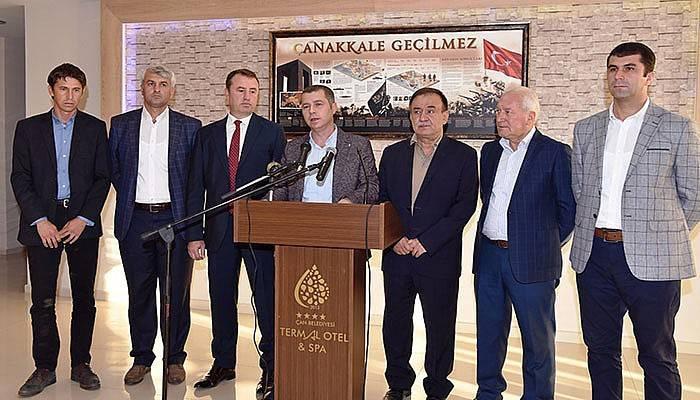 AK Partili Belediye Başkanları, Ülgür Gökhan'ı kınadı(VİDEO)