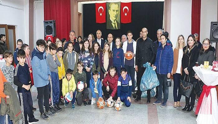Okullara Sportif Destek