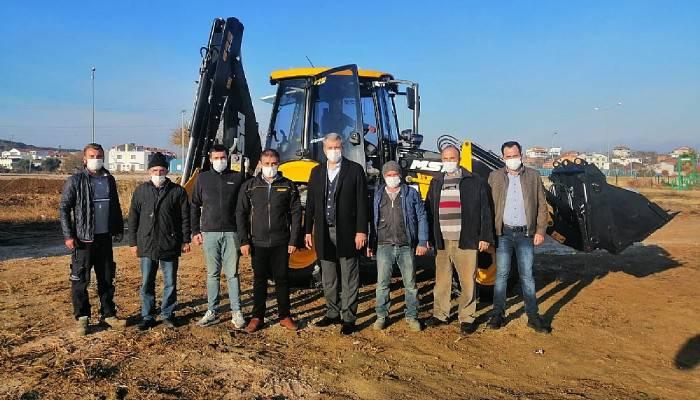 Karabiga Belediyesi iş makinesi filosuna bir yenisini daha ekledi.