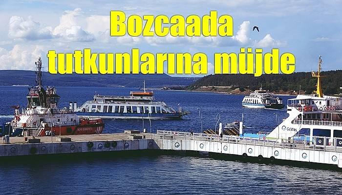 Bozcaada tutkunlarına müjde (VİDEO)