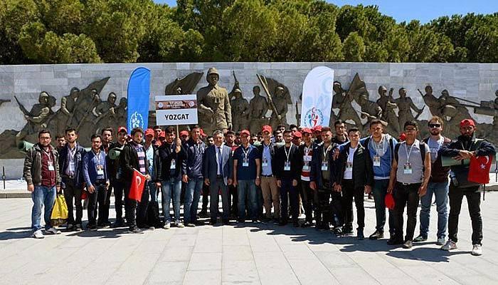 Rektör Acer, Yozgatlı öğrencilerle buluştu