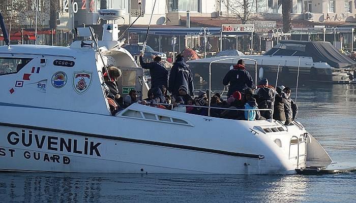 191 kaçak göçmen yakalandı