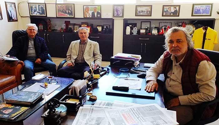 Kepez Kent Konseyi Başkanından Boğaz Medya'ya ziyaret