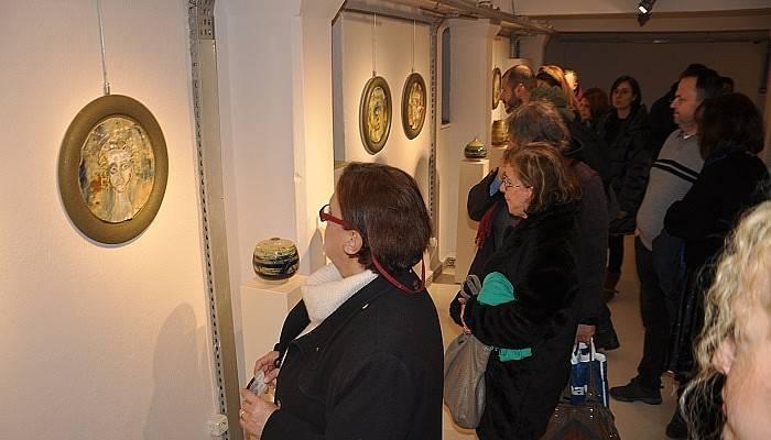 'Çatlak' seramik sergisi açıldı