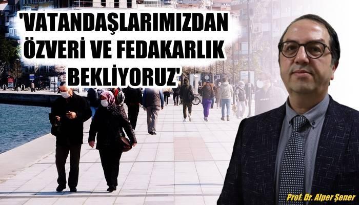 Prof. Dr. Alper Şener: Cumartesi yasaklarının belirgin bir katkısı olmaz (VİDEO)