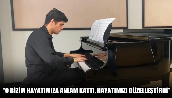 ÇOMÜ 'otizm ve müzik bursu' ile bir ilki başlattı!