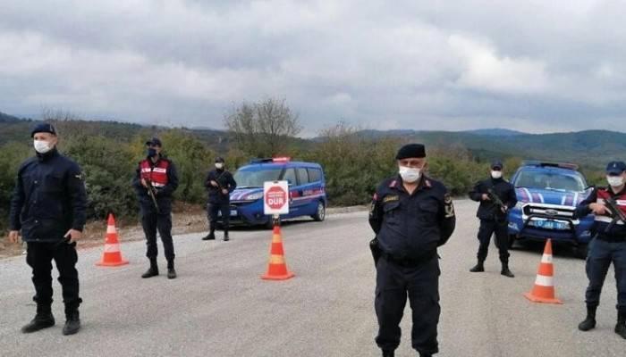 Ezine'de bir köy karantina altına alındı