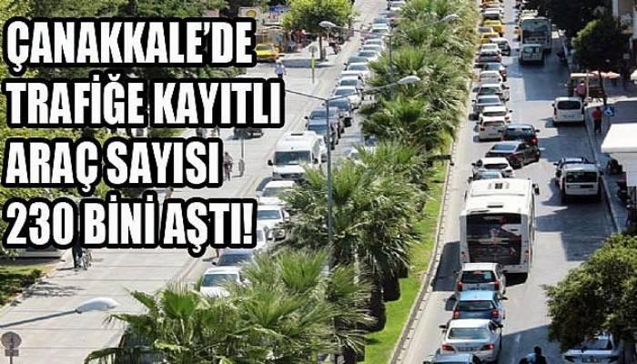 Kentte araç sayısı artmaya devam ediyor!