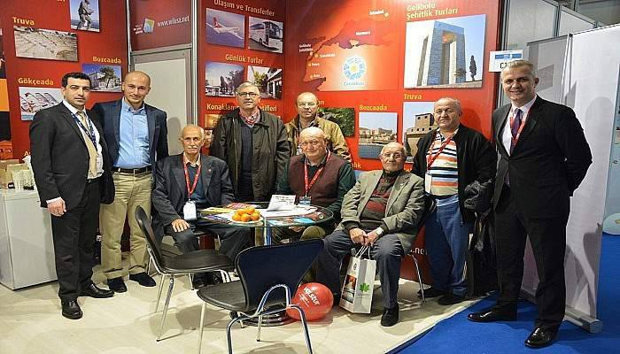 ÇTSO 10. İzmir Travel Turkey Fuarını ziyaret etti