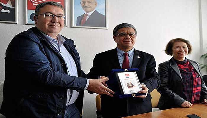 CHP'de İlk Ziyaret Merkez İlçe'ye Yapıldı