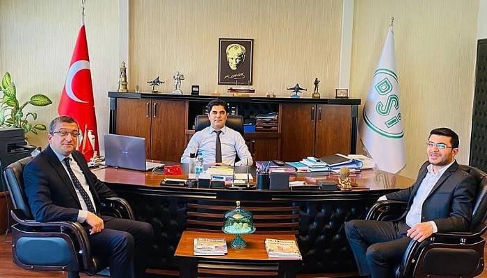 Başkan Öz, DSİ ziyaretinden müjdeyle döndü