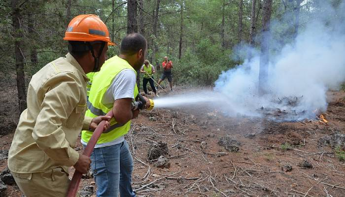 Gönüllü Orman Koruyucuları Eğitimlerini Tamamladı