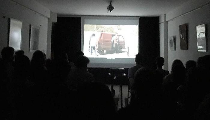 Öğrenciler sinema gecesinde bir araya geldi