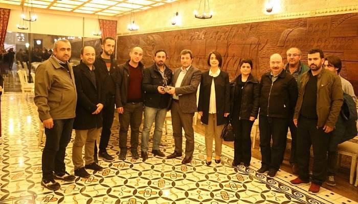 Vali Tavlı, Zonguldaklı Maden İşçileriyle Bir Araya Geldi