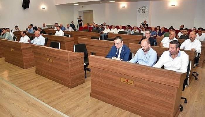Biga Belediyesi Meclis toplantısı yapıldı