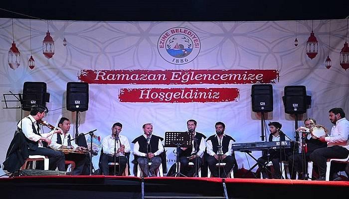 Ezine Belediyesinden Hem İftar Hem Ramazan Eğlencesi