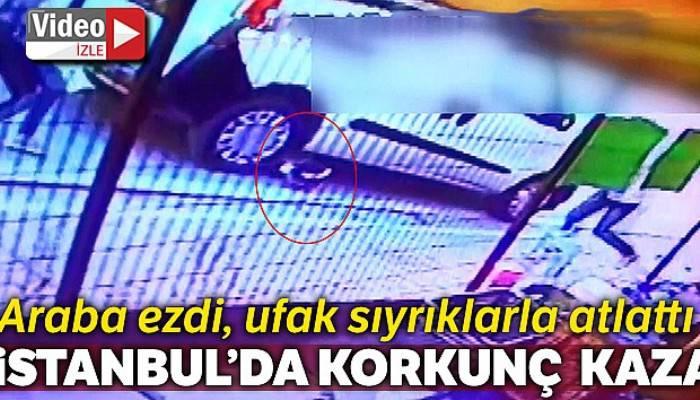 Esenyurt'ta arabanın ezdiği minik Zeynep'in ölümden inanılmaz kurtuluşu