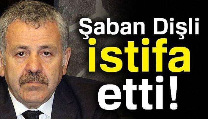 Şaban Dişli AK Parti Genel Başkan Başdanışmanlığından istifa etti