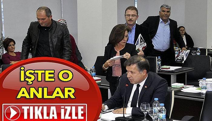 Belediye Meclisi Kaset Skandalıyla dağıldı (VİDEO)