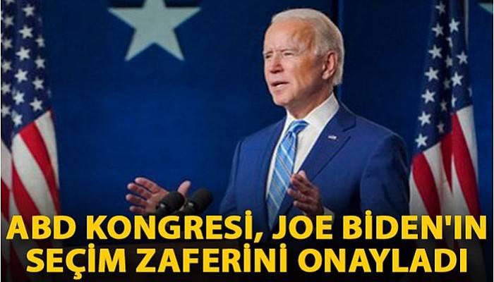 ABD Kongresi, Joe Biden'ın seçim zaferini resmen onayladı