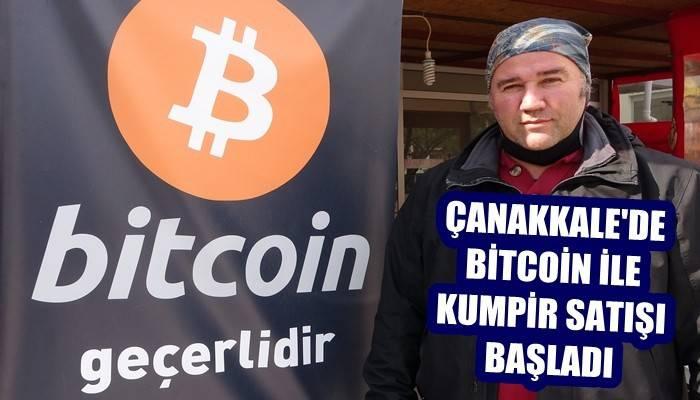 Çanakkale'de bitcoin ile kumpir satışı başladı (VİDEO)