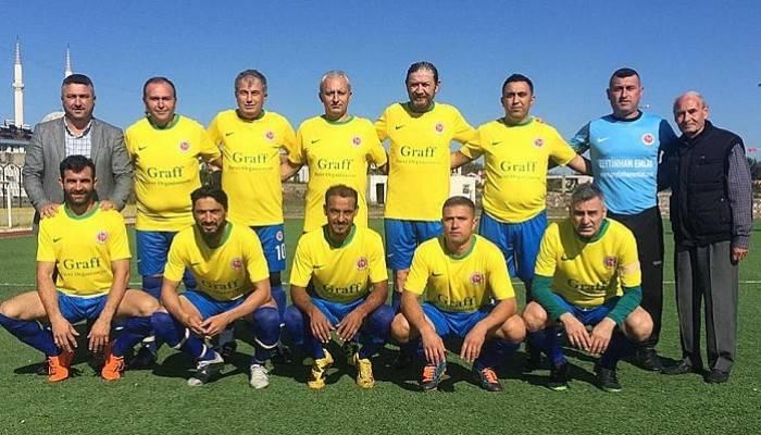 Ustalar Futbol Ligi Başladı