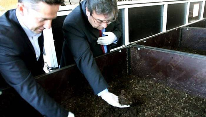 13 milyon solucanla üretime başladı!