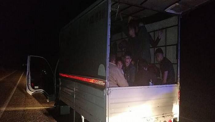 Çanakkale'de 125 kaçak ve 2 organizatör yakalandı