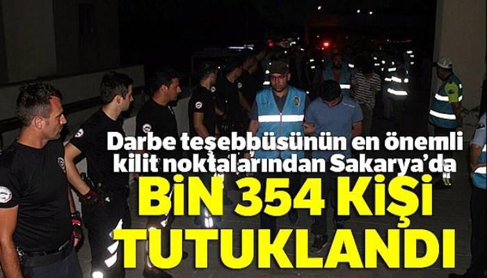 15 Temmuz darbe teşebbüsünden bu yana bin 354 kişi tutuklandı