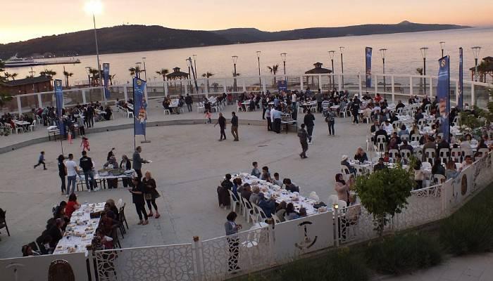 Turkcell'den 2250 kişiye iftar sofrası