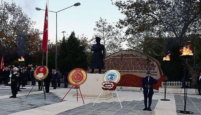 Ulu Önder Atatürk törenle anılacak