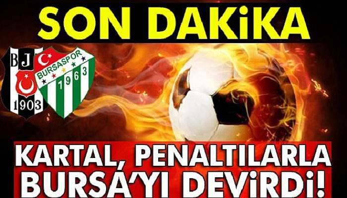 Beşiktaş Bursaspor maçı kaç kaç?