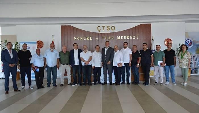 Ahşap ve yapısal ambalaj sektörü temsilcileri Çanakkale'de bir araya geldi