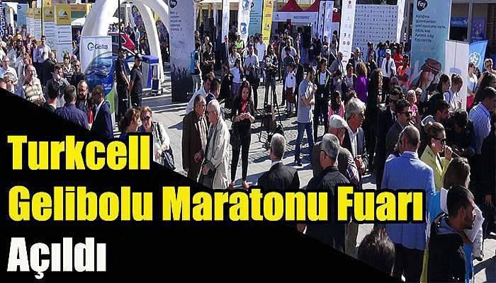 Turkcell Gelibolu Maratonu Fuarı Açıldı