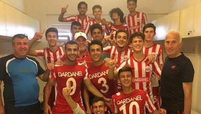 Dardanel'in U17 Takımı Türkiye dördüncüsü