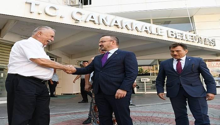 Bülent Turan'dan Ülgür Gökhan'a ziyaret (VİDEO)