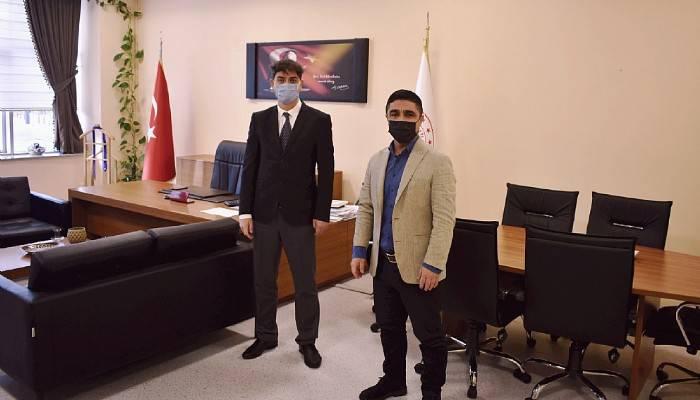İşkur İl Müdürü Vekili Yavuz'dan Başhekim Tali'ye ziyaret