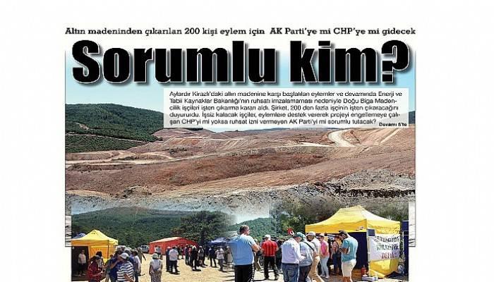 Altın madeninden çıkarılan 200 kişi eylem için AK Parti'ye mi CHP'ye mi gidecek