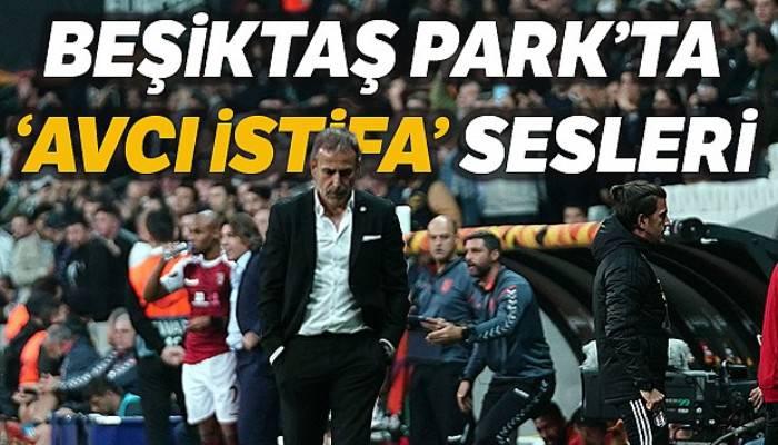 Beşiktaş Park'ta 'Avcı istifa' sesleri