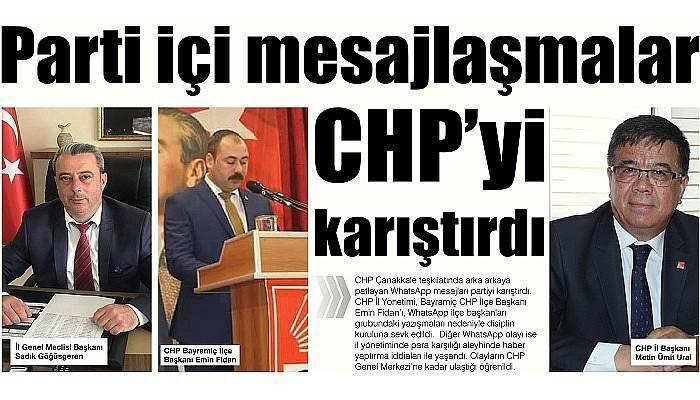 WhatsApp mesajları CHP'yi karıştırdı