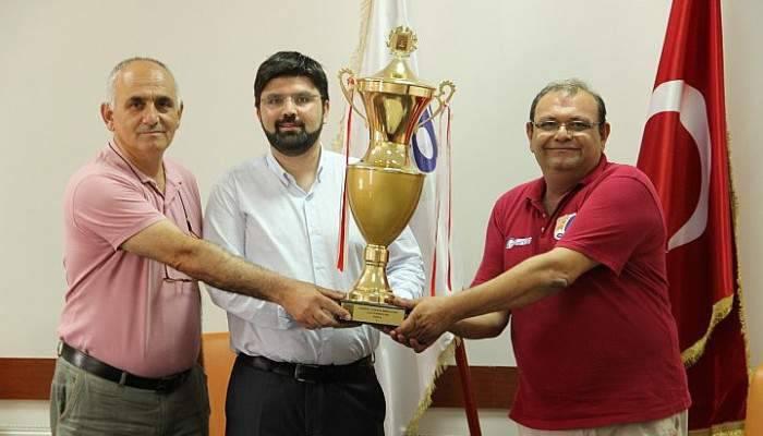 Gökçeada Spor Kulübü Çanakkale'de bir ilki yaşattı