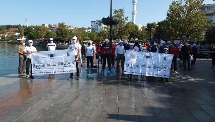 Avrupa Hareketlilik Haftası'nda yürüdüler