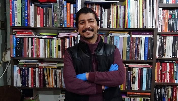Çanakkale'de 'evde kal, biz sana kitabını getiririz' uygulaması (VİDEO)