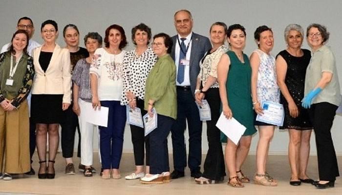 Kanser Eğitim Programının Sertifika Töreni Gerçekleştirdi