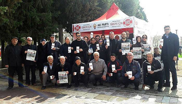 AK Parti Kepez'den 'evet' çadırı