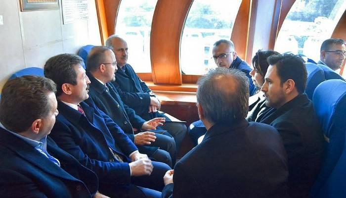 Bakan Turhan'a Kilitbahir Projesi anlatıldı