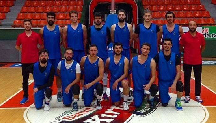 Umurbey Belediyesi Basketbol Takımı hazırlık maçında galip