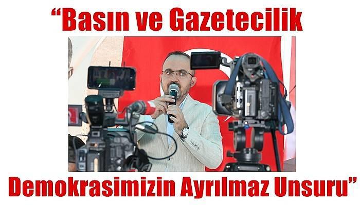 Turan'dan Gazeteciler ve Basın Bayramı Günü Mesajı