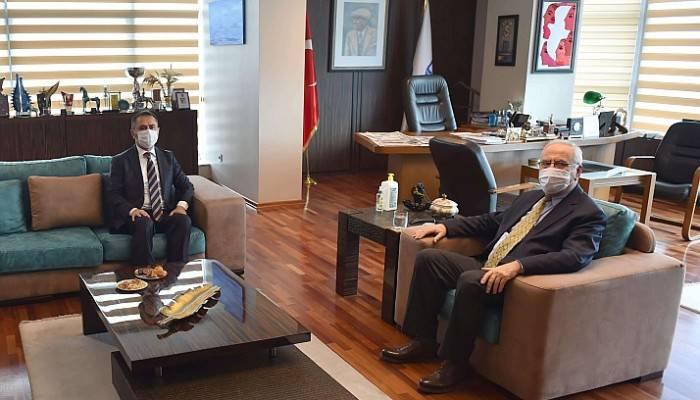Başkan Gökhan, Vali Aktaşı'ı ağırladı